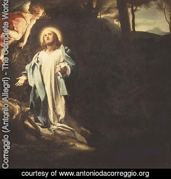Correggio (Antonio Allegri) - Christ in the Garden of Gethsemane