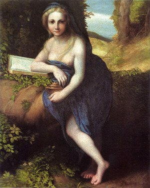 Correggio (Antonio Allegri) - The Magdalene, c.1518-19