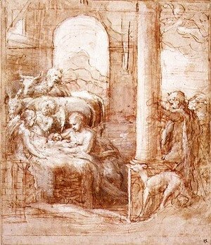 Correggio (Antonio Allegri) - The Nativity, c.1522