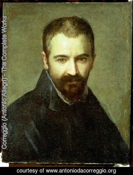 Correggio (Antonio Allegri) - Possible self portrait