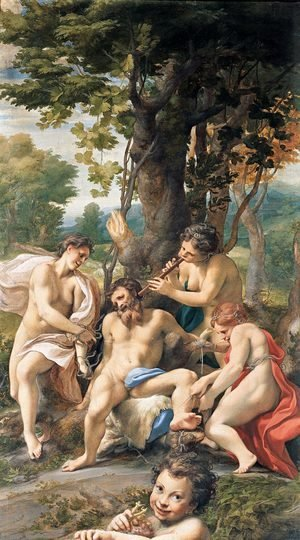 Correggio (Antonio Allegri) - Allegory of the Vices, 1529-30