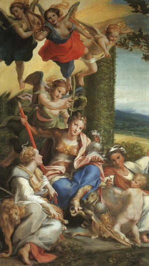 Allegory of the Virtues, c.1529-30