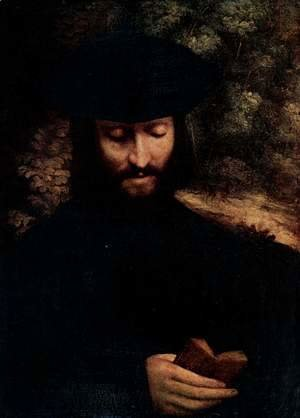Correggio (Antonio Allegri) - Portrait of a man 2