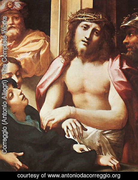 Correggio (Antonio Allegri) - Christ Presented to the People (Ecce Homo)