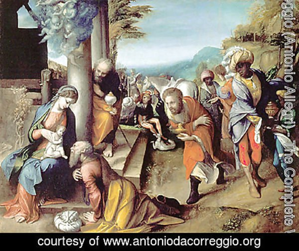 Correggio (Antonio Allegri) - Adoration of the Magi