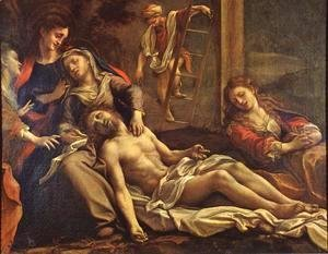 Correggio (Antonio Allegri) - Deposition From The Cross 1525