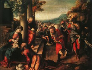 The Adoration of the Magi 1516
