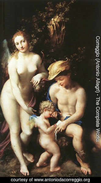 The Education of Cupid 1528