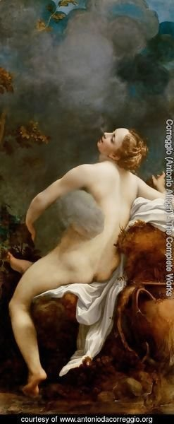 Correggio (Antonio Allegri) - Jupiter and Io (Giove e Io)