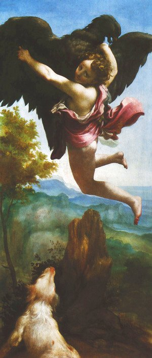 Abduction of Ganymede (Ratto di Ganimede)